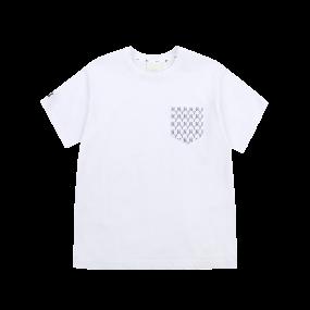 모노그램 포켓 오버핏 반팔 티셔츠 뉴욕양키스