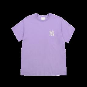 모노그램 그라데이션 빅로고 오버핏 반팔 티셔츠 뉴욕양키스