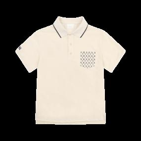 모노그램 포켓 카라 반팔 티셔츠 뉴욕양키스