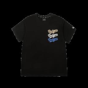 베이직 클래식 로고 트리플 반팔 티셔츠 LA다저스