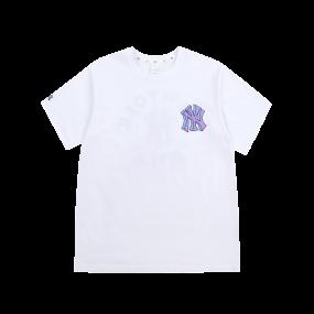LIKE 팝콘 오버핏 반팔 티셔츠 뉴욕양키스