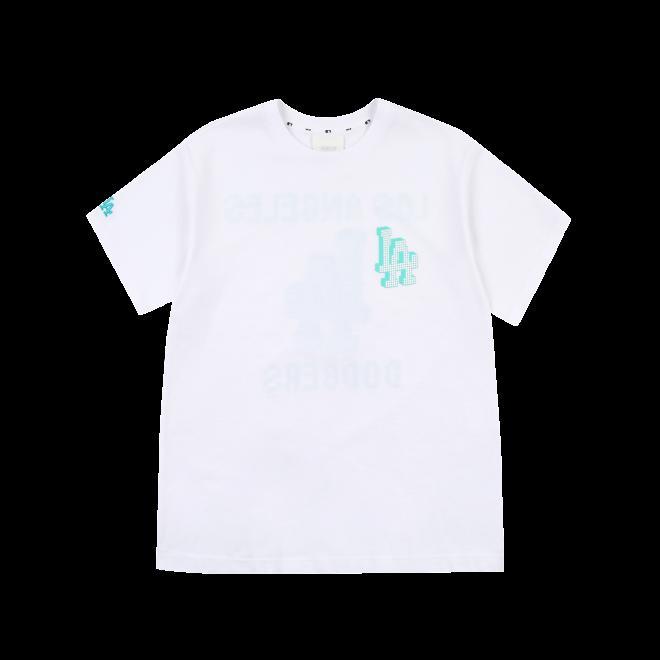 PLAY 백 픽셀 로고 오버핏 반팔 티셔츠 LA다저스