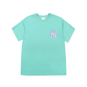 PLAY 백 픽셀 로고 오버핏 반팔 티셔츠 뉴욕양키스