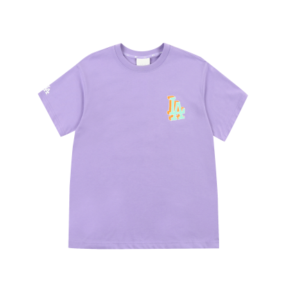LIKE 팝콘 오버핏 반팔 티셔츠 LA다저스