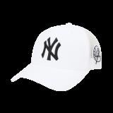 서클스탬프 커브 메쉬캡 뉴욕양키스