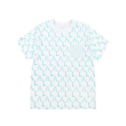 모노그램 믹스 포켓 오버핏 반팔 티셔츠 LA다저스