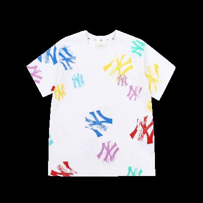 그래피티 오버핏 반팔 티셔츠 뉴욕양키스