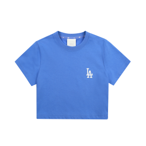 여성 쿨필드 크롭 티셔츠 LA다저스