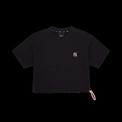 여성 스트링 반팔 티셔츠 뉴욕양키스