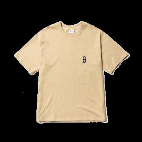 모노그램 백로고 오버핏 반팔 티셔츠 보스턴 레드삭스