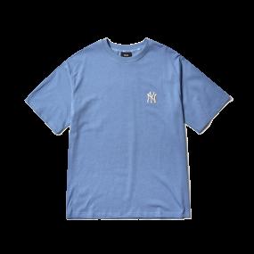 모노그램 백로고 오버핏 반팔 티셔츠 뉴욕양키스