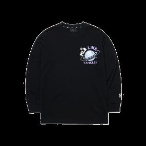 LIKE 플래닛 오버핏 긴팔 티셔츠 뉴욕양키스