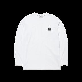 베이직 메가로고 긴팔 티셔츠 뉴욕양키스
