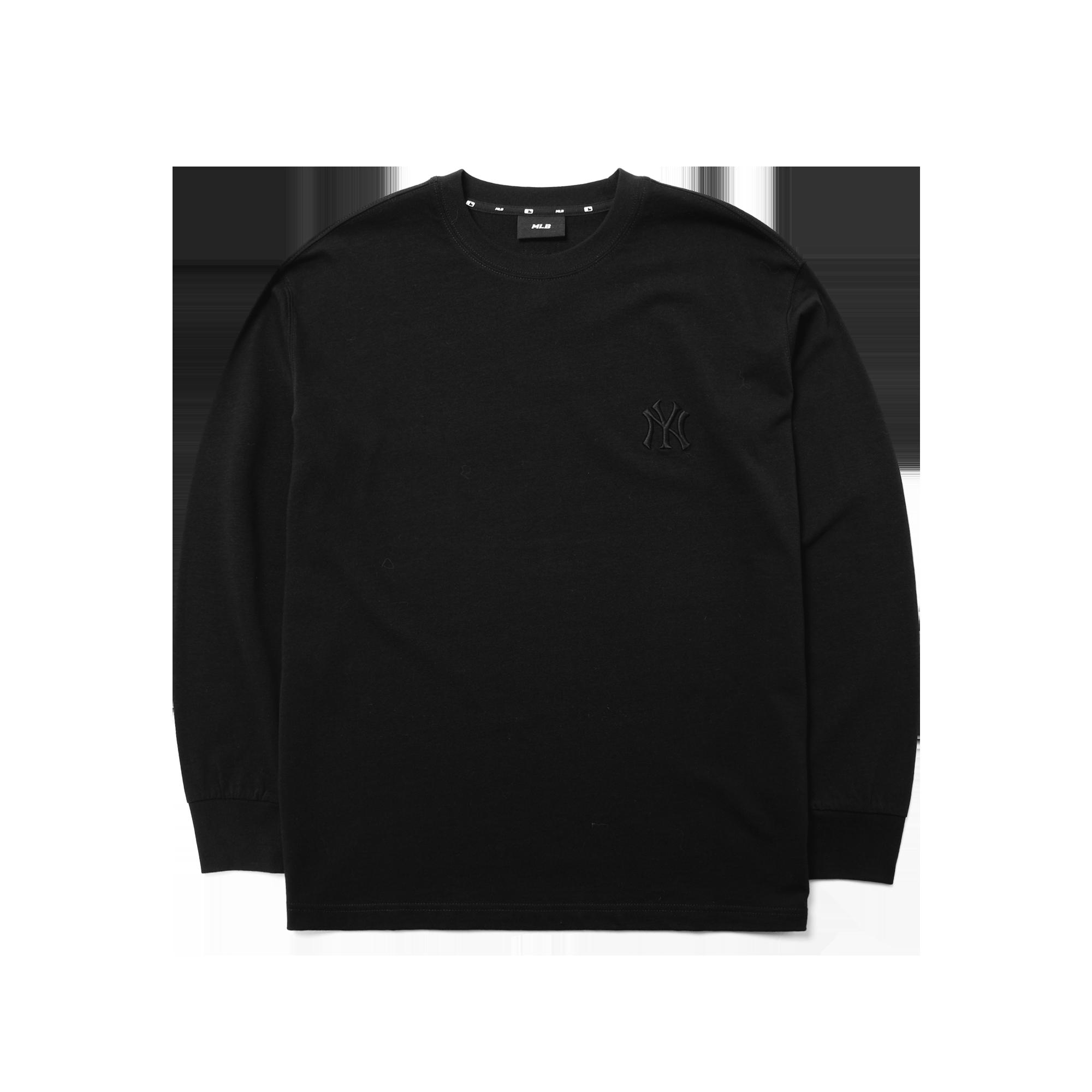 베이직 스몰로고 오버핏 긴팔 티셔츠 뉴욕양키스