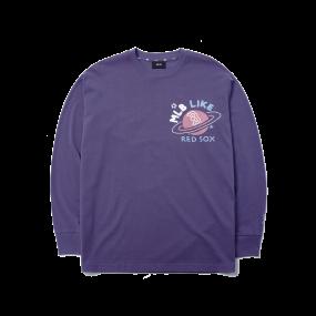 LIKE 플래닛 오버핏 긴팔 티셔츠 보스턴 레드삭스