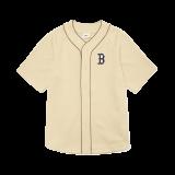 클래식 모노그램 백로고 베이스볼 셔츠 보스턴 레드삭스