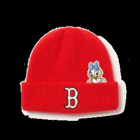 MLB x Disney 도날드덕 미드 비니 보스턴 레드삭스