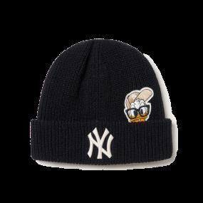 MLB x Disney 도날드덕 미드 비니 뉴욕양키스