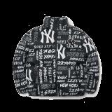 그래피티 타이포 전판프린트 숏패딩 뉴욕양키스