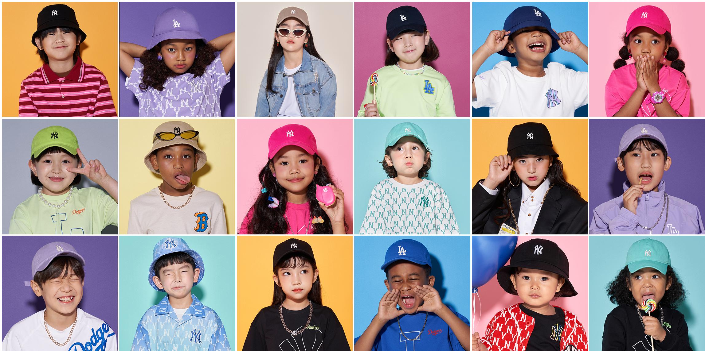 mlb kids cap & hot